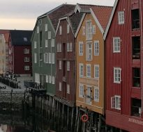 Trondheim, Norway was invaded by GoJelly team!