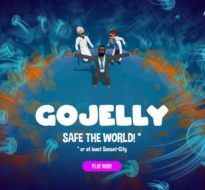 """Online launch of new socio-ecological strategy game """"GoJelly"""""""